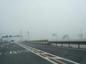 霧の9号線