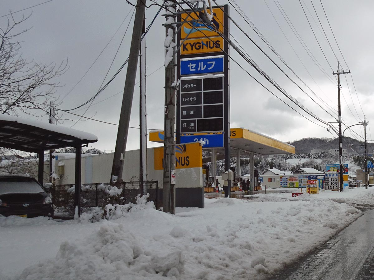 2020年大晦日の松江