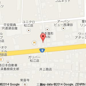 サンキューカット(3QCUT)西津田店の地図