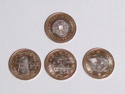 地方自治法60周年記念500円硬貨 島根県