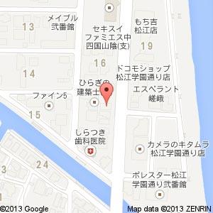 エイブルネットワーク 松江店の地図