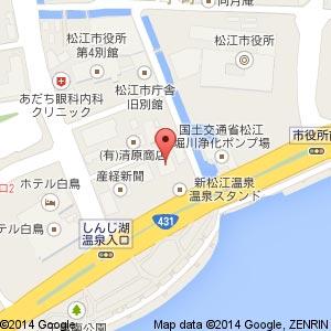 アジアンダイニング アガンの地図