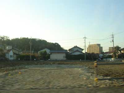松江市西津田の空地