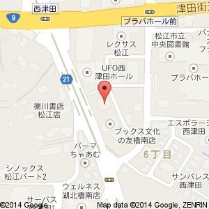 アルファスマート上乃木マンションギャラリーの地図