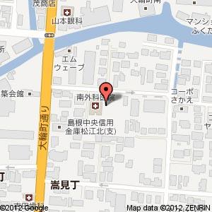 アルファステイツ北田町(仮称)の地図