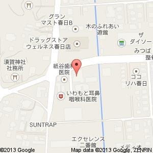 アルファステイツ黒田町Ⅱモデルルームの地図