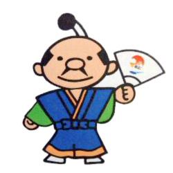 松江開府400年祭マスコットキャラクター「あっぱれくん」