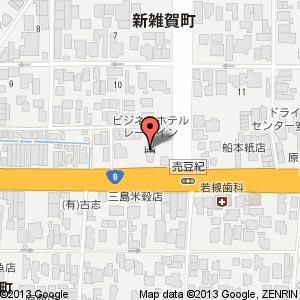 華雑華ラーメン&バイキングさい華の地図