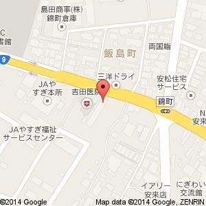 auショップ 安来中央の地図