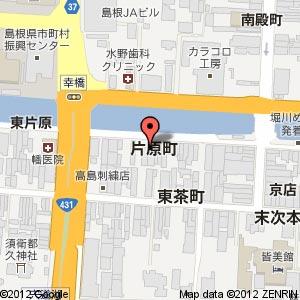 あうんダイニングの地図