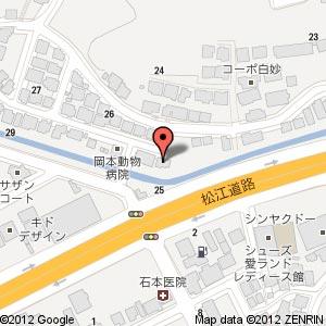 S.Cafe LINQ Agenogi(エスカフェリンク アゲノギ)の地図