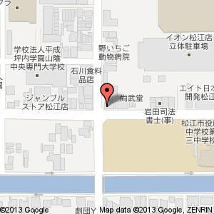 ベアトリーチェ 松江店の地図