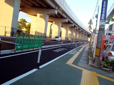 自転車専用道路 松江・橋南地区