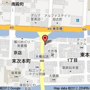 Bistrande(ビストランデ) 東京橋の地図