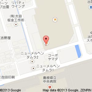 BISTRO309 ゆめタウン出雲店の地図