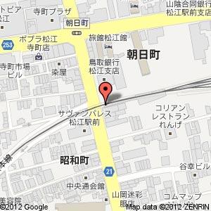 BLUE LINEの地図