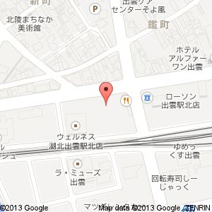 Taste BROOKLYN DININGの地図
