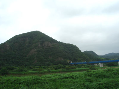 山陰道 仏経山トンネル