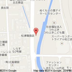 バーガーキング松江南店の地図