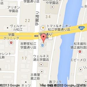 Cacher(カシェ)学園通り店の地図
