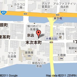 cafe&Bar B.B.の地図