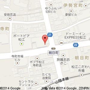 Cafe&bar GODの地図