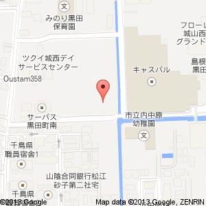 キャスパル西駐車場の地図