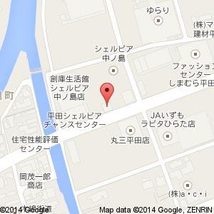 理容 Cerisier(スリジェ)の地図