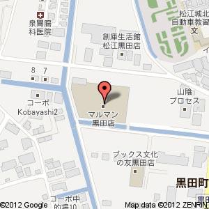 洋菓子屋 ちょんぼしの地図