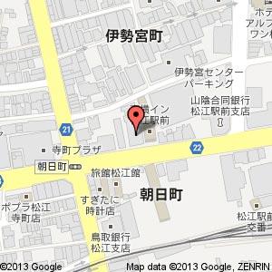 COCO塾 松江校の地図