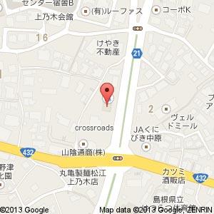 ココ・リハ 上乃木(仮称)の地図