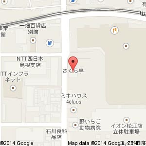 美容室 Rote(ロテ)の地図