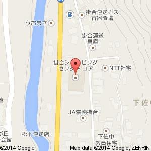 掛合ショッピングセンター コアの地図