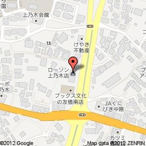 理容 cut-A(カットエー) 松江店の地図