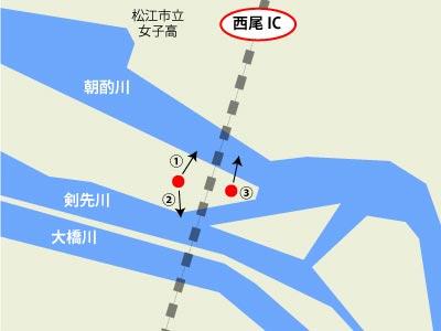 松江第五大橋道路