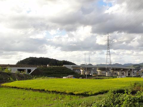 松江だんだん道路 松江JCT付近