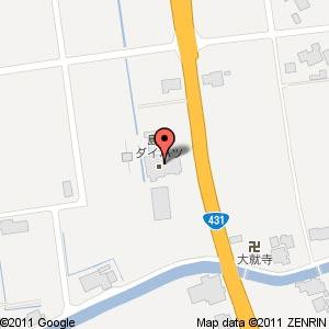島根ダイハツ神西店 改築工事の地図