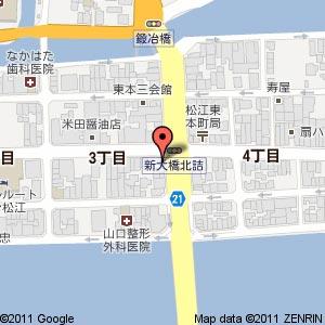 やきとり大吉 東本町店の地図