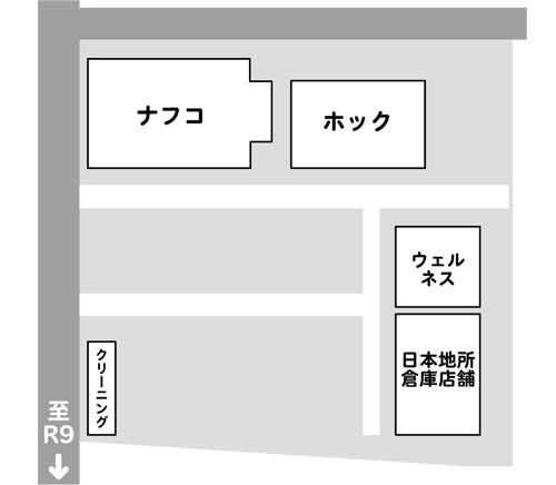 斐川町荘原複合店舗(仮称)の店舗配置図
