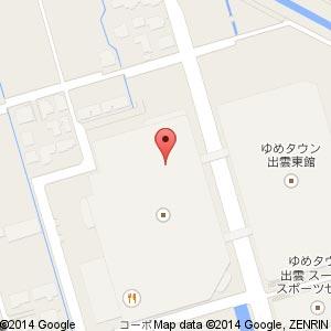 DILash(ディラッシュ) ゆめタウン出雲店の地図