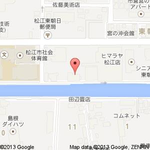 ドキドキ松江店の地図