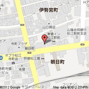 ドーミーインEXPRESS松江(仮称)の地図