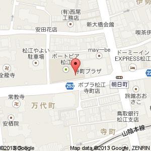 インターネットカフェ Dorothy(ドロシー) 松江店の地図