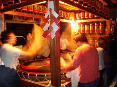 松江祭鼕行列2009 中原町土手