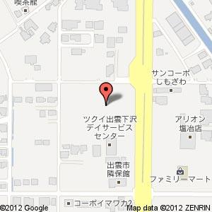 ドラッグコスモス 塩冶東店の地図