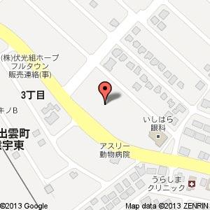 ドラッグコスモス 東出雲店(仮称)の地図