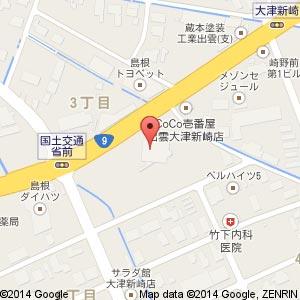 ドラッグコスモス 大津新崎店の地図