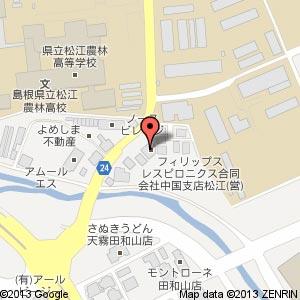 イーライフ田和山の地図