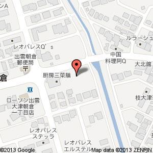 大津朝倉マンション(仮称)の地図
