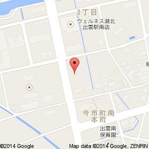 ファミリーマート 出雲南本町店の地図